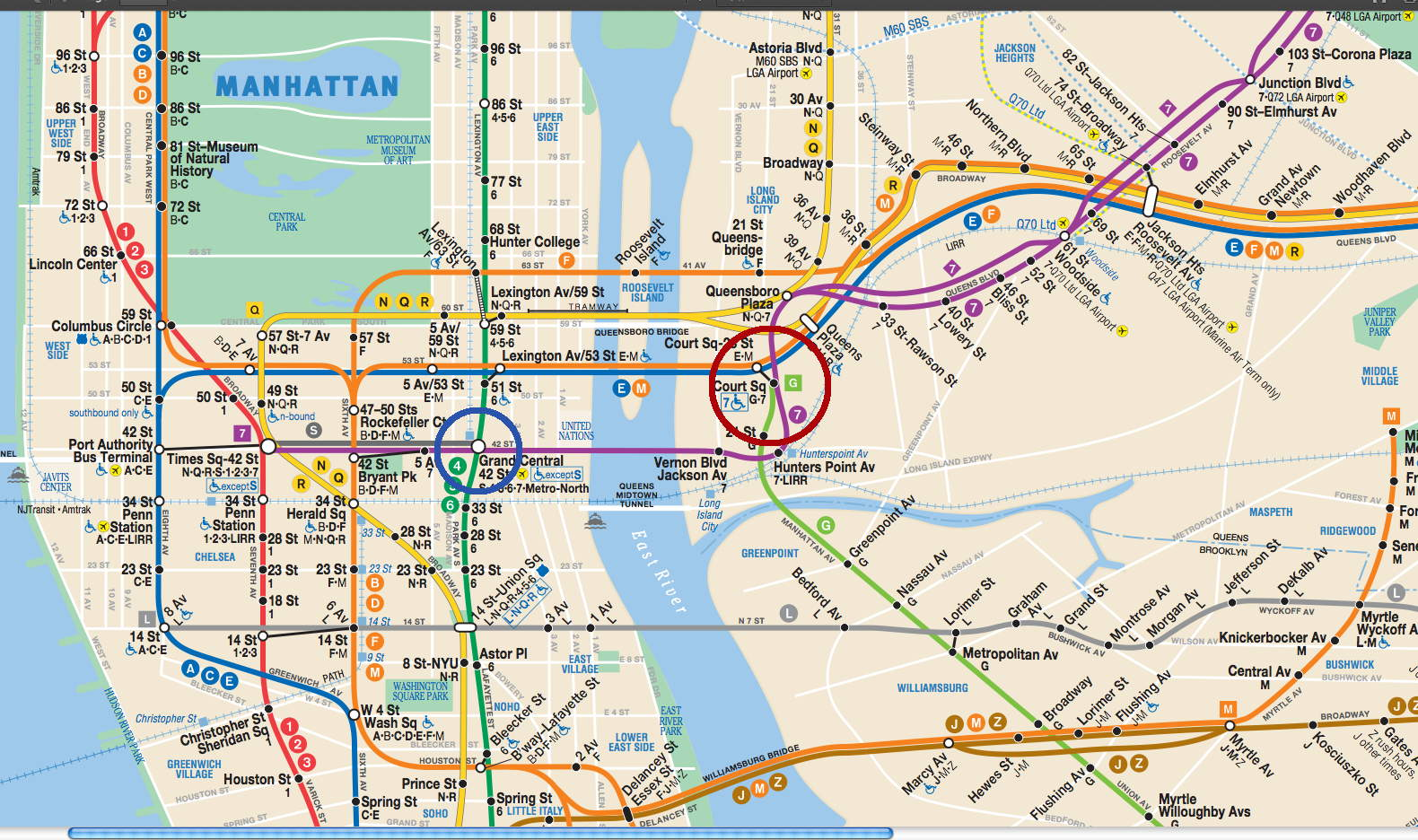 new york city bus and subway map html with 583772 on Budapest Metro Tram Suburban Railway Map as well New York Bus additionally IRT furthermore Martha cooper and henry chalfant s subway art is the bible of graffiti art additionally Mapa New York.